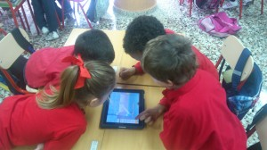 Tablets, en las aulas de Begoñazpi Ikastola.