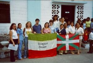 Hermanamiento de Begoñazpi Ikastola con Palenque.