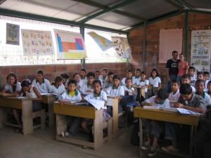 """""""Poco a poco fuimos compartiendo la idea de que la educación era fundamental en Palenque"""