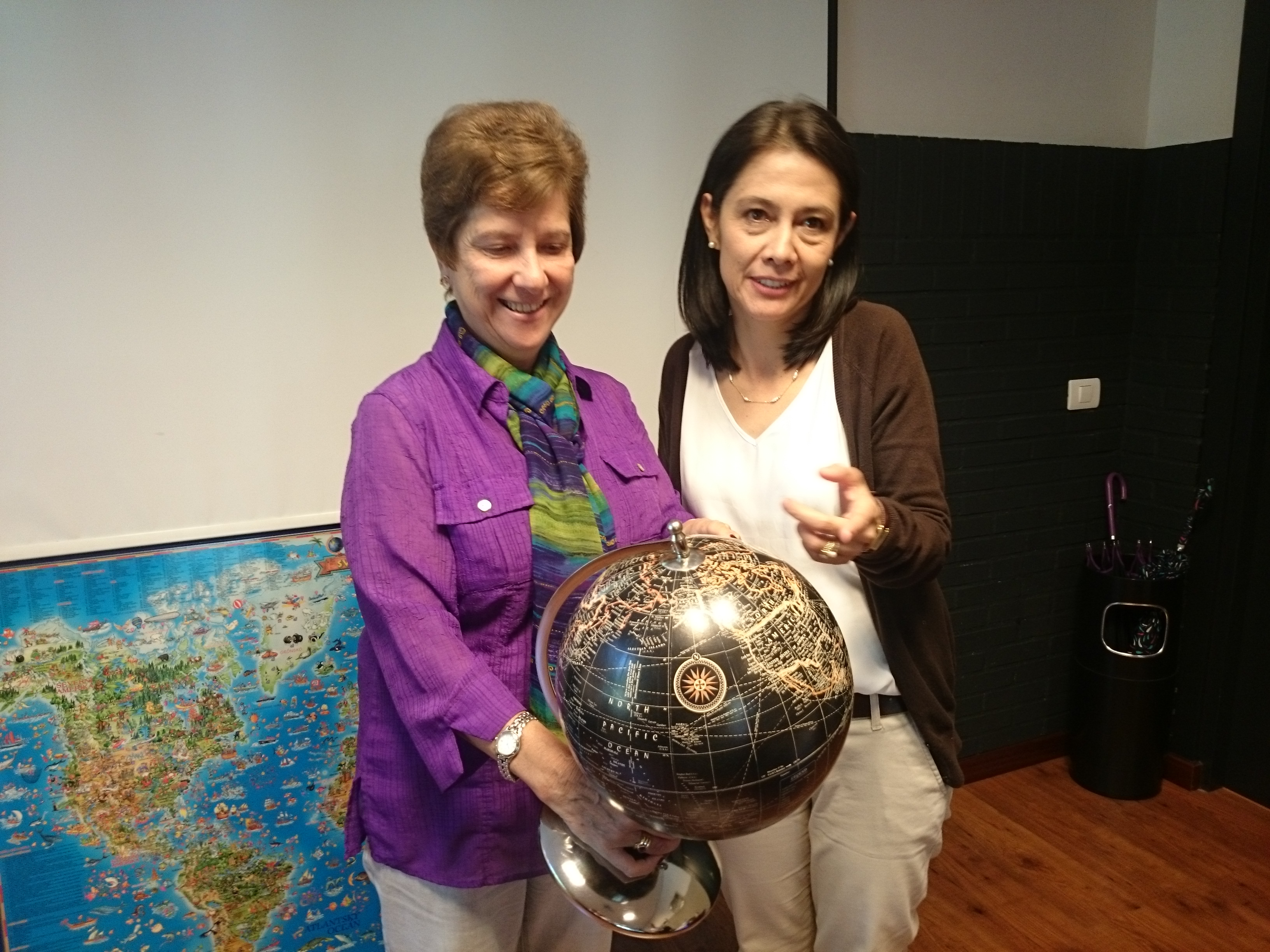 María Ximena Barrera eta Patricia León