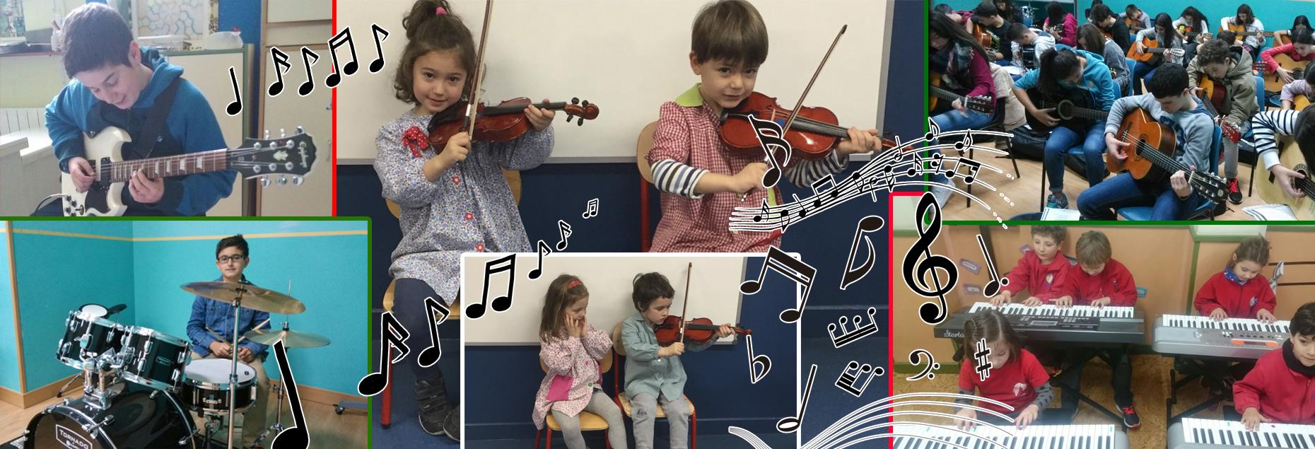 Formación musical reglada, en las aulas de Begoñazpi Ikastola