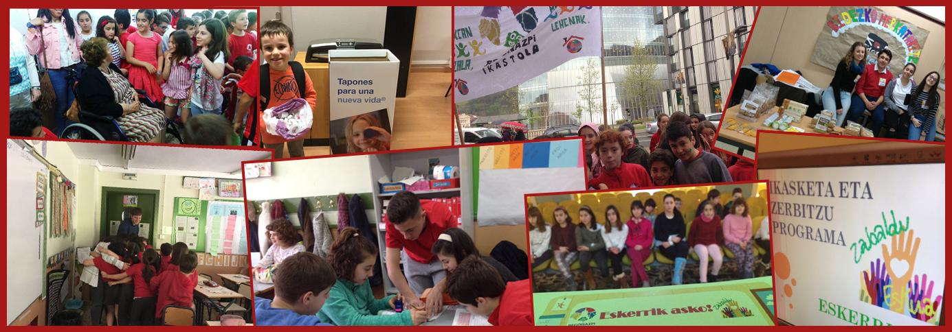 Aprendizaje y servicio, van de la mano en Begoñazpi Ikastola
