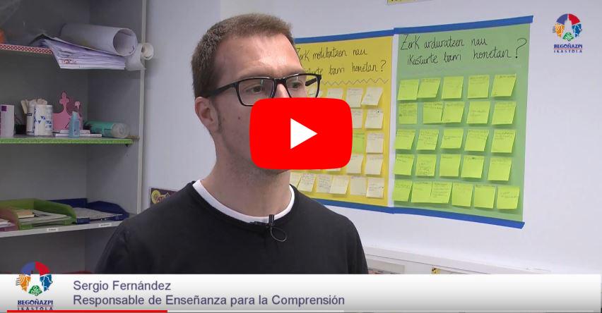 Sergio Fernández, responsable de Enseñanza para la Comprensión
