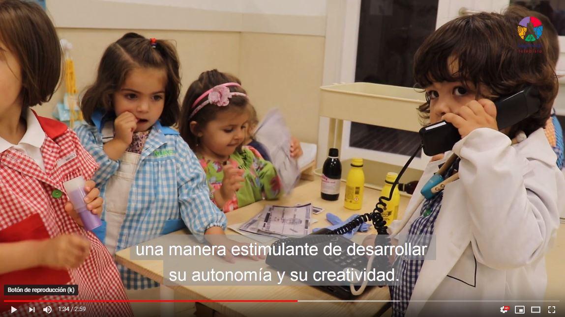 Los txikis de dos años de Begoñazpi Ikastola acuden seguros y confiados al aula